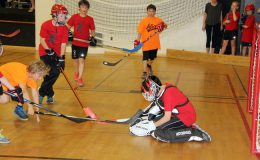 Floor hockey raises money for mental health Image for Blog Post
