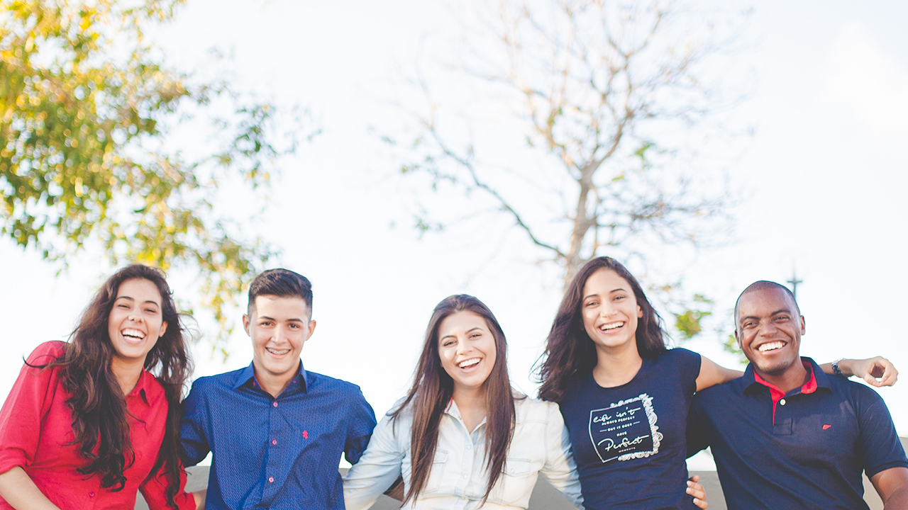 Teens Group Image for Homepage Slider Background