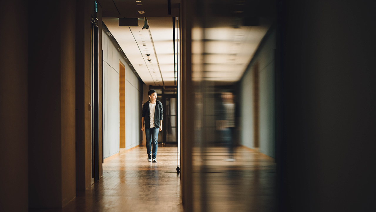 Teen Walking Halls for Homepage Slider